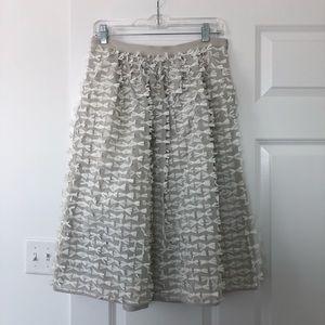 Tibi Ribbon Bow Skirt